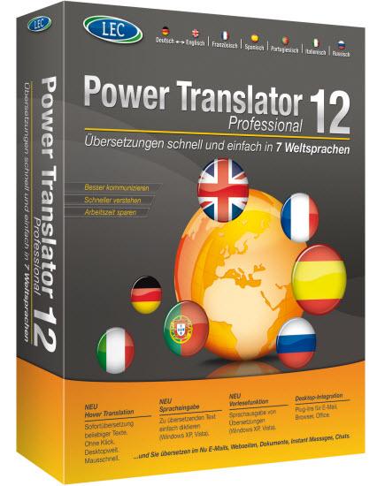 The best software for translation: power translator 15 + download.
